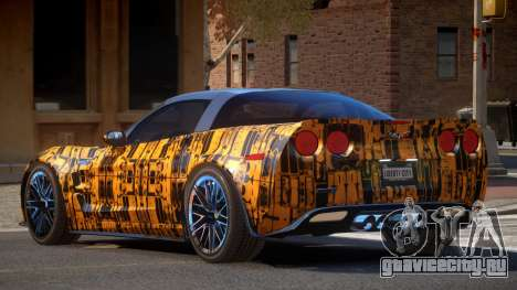 Chevrolet Corvette R-Tuned PJ5 для GTA 4
