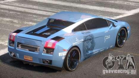 Lamborghini Gallardo FSI PJ3 для GTA 4