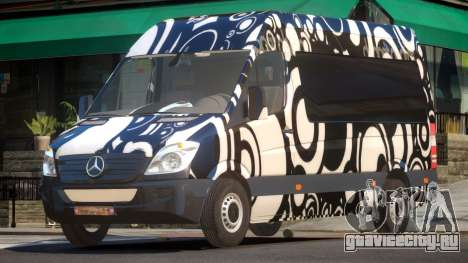 Mercedes Benz Sprinter MR PJ4 для GTA 4