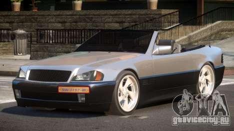 Mercedes Benz SL500 CMR для GTA 4
