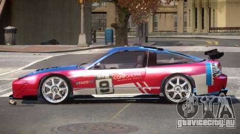 Nissan 240SX D-Tuned PJ2 для GTA 4