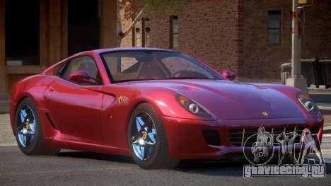 Ferrari 599 GTB SR для GTA 4