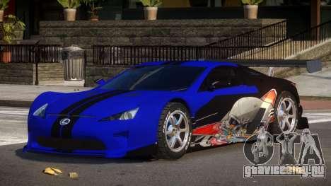 Lexus LFA R-Style PJ3 для GTA 4