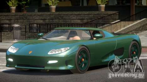 Koenigsegg CC8S ST для GTA 4