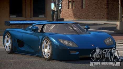 Koenigsegg CCGT TR для GTA 4