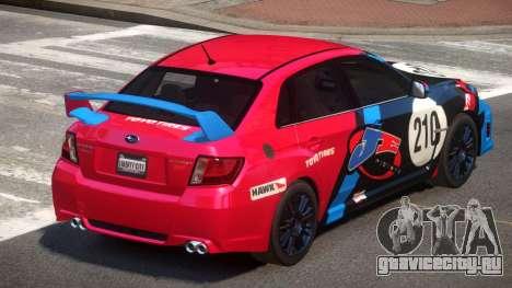 Subaru Impreza WRX SR PJ2 для GTA 4
