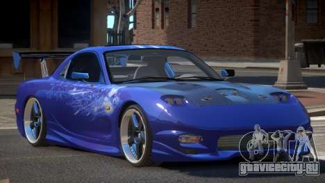 Mazda RX7 PSR PJ4 для GTA 4