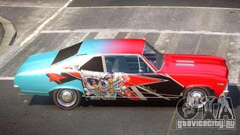 Chevrolet Nova RT PJ1 для GTA 4
