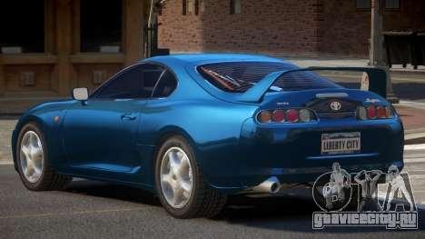 Toyota Supra G-Style для GTA 4