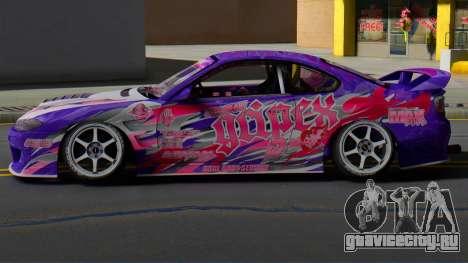 Nissan Silvia S15 Dmax Gripex Garage для GTA San Andreas