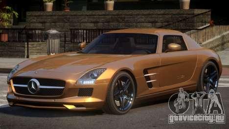 Mercedes Benz SLS JR для GTA 4