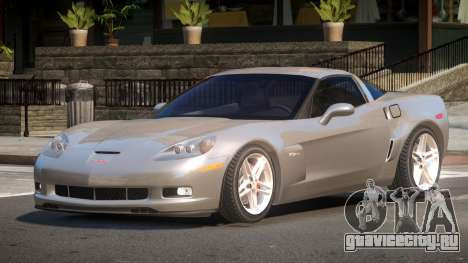 Chevrolet Corvette Z06 RT для GTA 4