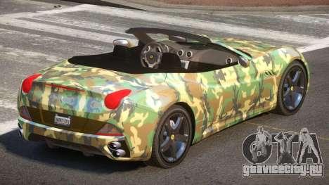 Ferrari California SR PJ1 для GTA 4