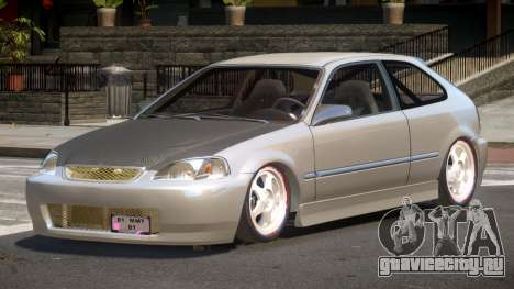 Honda Civic RG-49 для GTA 4