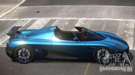 Koenigsegg CCXR D-Tuned для GTA 4