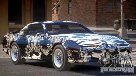 1991 Pontiac Firebird PJ3 для GTA 4