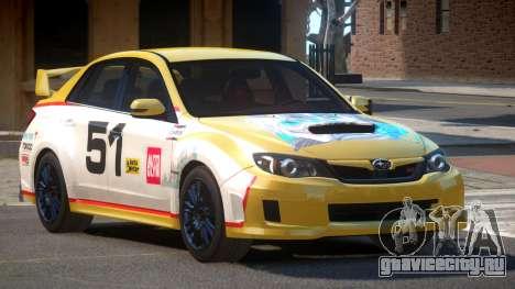 Subaru Impreza WRX SR PJ6 для GTA 4