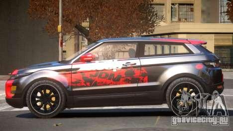 Range Rover Evoque MS PJ3 для GTA 4