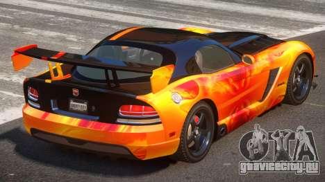 Dodge Viper SRT M-Sport PJ3 для GTA 4