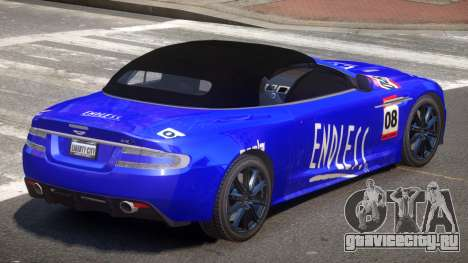 Aston Martin DBS Volante SR PJ6 для GTA 4