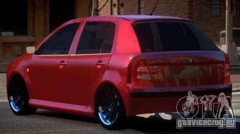 Skoda Fabia RP для GTA 4