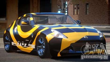 Nissan 370Z TR PJ3 для GTA 4