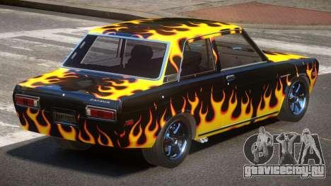 1972 Datsun Bluebird 510 PJ3 для GTA 4