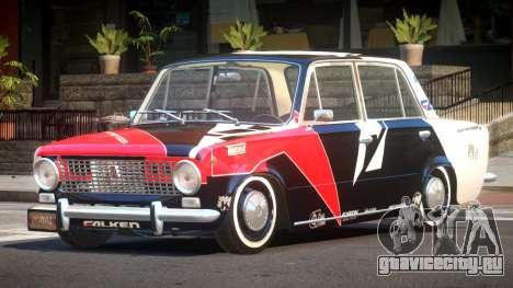 VAZ 2101 BR PJ5 для GTA 4