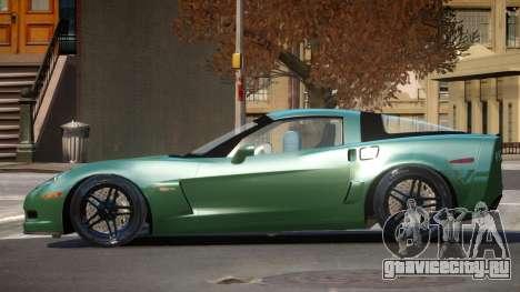 Chevrolet Corvette TQ для GTA 4