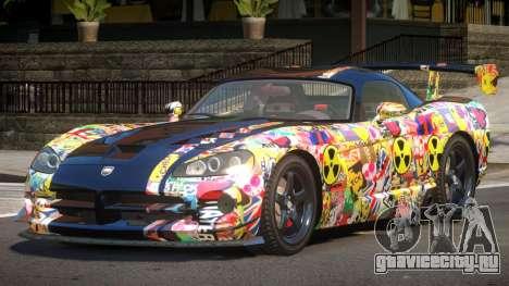 Dodge Viper SRT M-Sport PJ1 для GTA 4