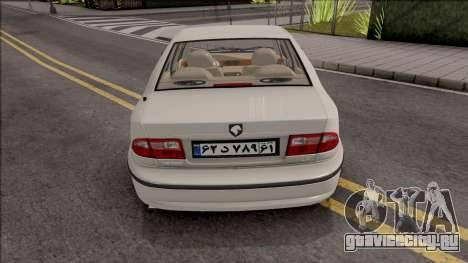 Ikco Samand LX EF7 Sport для GTA San Andreas