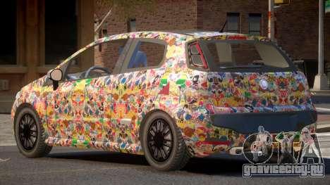 Fiat Punto TR PJ5 для GTA 4