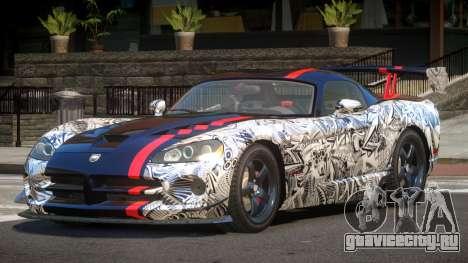 Dodge Viper SRT M-Sport PJ4 для GTA 4