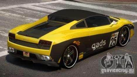 Lamborghini Gallardo LP560 MR PJ6 для GTA 4