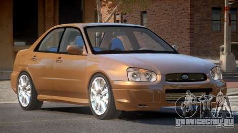 1998 Subaru Impreza для GTA 4