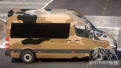 Mercedes Benz Sprinter MR PJ3 для GTA 4