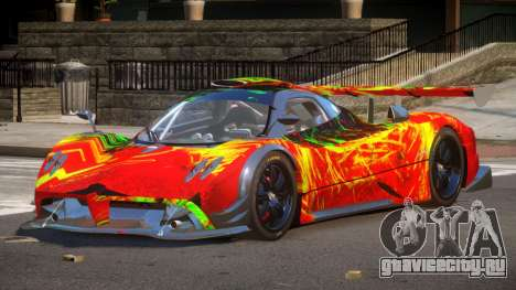 Pagani Zonda SR PJ2 для GTA 4