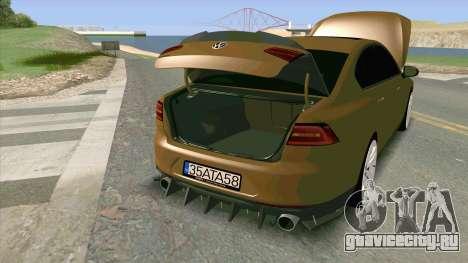 Volkswagen Passat B8 Turkiye для GTA San Andreas
