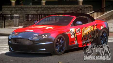 Aston Martin DBS Volante SR PJ1 для GTA 4