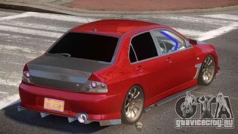 Mitsubishi Lancer 8 TR для GTA 4