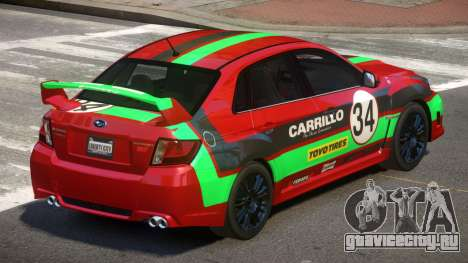 Subaru Impreza WRX SR PJ3 для GTA 4
