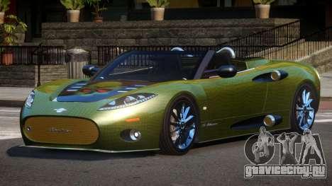 Spyker C8 R-Tuned PJ4 для GTA 4