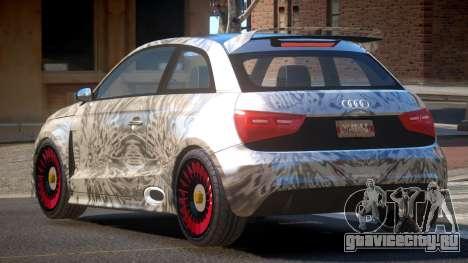Audi A1 G-Style PJ6 для GTA 4