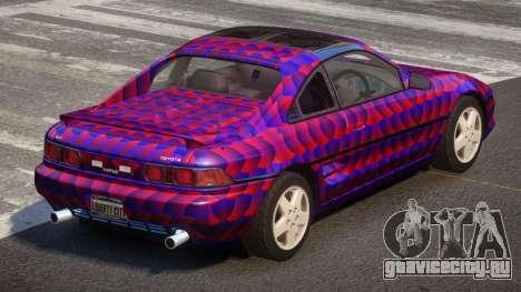 Toyota MR2 GT Sport PJ3 для GTA 4