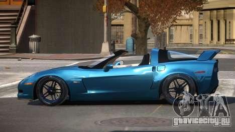 Chevrolet Corvette Z06 TR для GTA 4