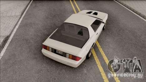 Chevrolet Camaro Z28 1986 для GTA San Andreas