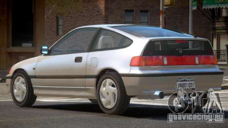 Honda CRX Si-R для GTA 4