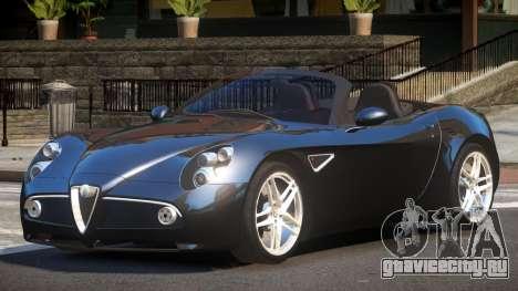 Alfa Romeo 8C RT для GTA 4