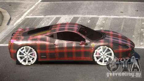 Ferrari 458 R-Tuned PJ6 для GTA 4