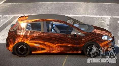 Fiat Punto TR PJ1 для GTA 4